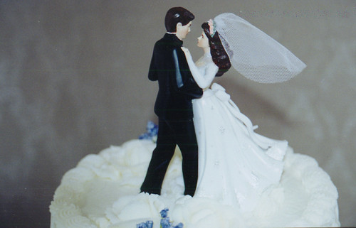 20000212 - Clint & Carolyn's Wedding Reception_Wedding-Cake_Topper by Captain CHAAAAAAAAAAAAAAOOOOOOOOOOOOOOOOOOOSSSSSSS.