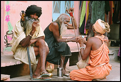 Sadhus (ashitparikh) Tags: india festival indian monk monks indians pushkar rajasthan sadhu guru mela
