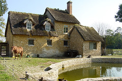 Marie-Antoinette's hamlet (Heather Leah Kennedy) Tags: travel paris france marie french cottage versailles antoinette hamlet petit hameau