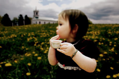 tea and clouds (toyfoto) Tags: portrait sky clouds landscape toddler babyofmine variations versions velvetdress utatapayshomage inspiredbylux
