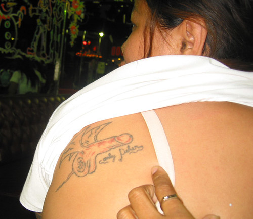 Thai girl tattoo