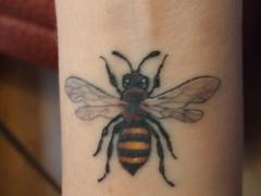 Bee Tat (Jgrrrrl) Tags: tattoo bees bee beetattoo