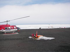 Bonney2-Foggedin__1.jpg (miss_distance) Tags: weather antarctica snowing stranded dryvalleys drbessward lakebonney drmarkwells taylorvalley heloflight httporebodycom flyinginfog