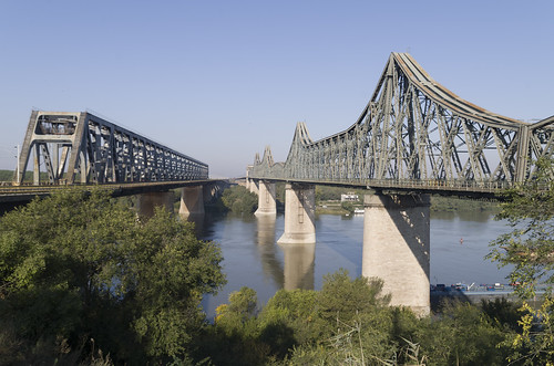 Cernavodă and Anghel Saligny Bridges, 05.10.2014.