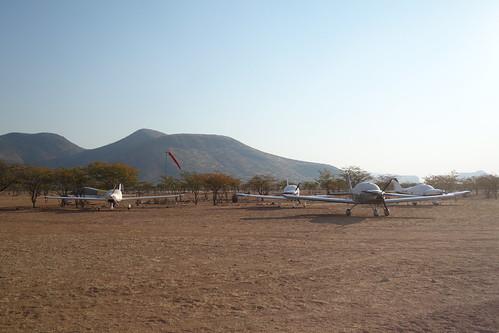 Planes near Epupa