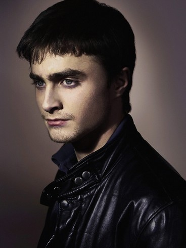 Daniel Radcliffe modelando