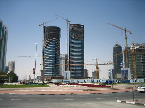Doha, under construction