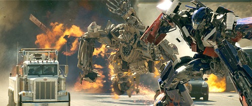 Optimus y bonecrusher