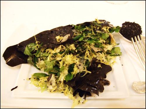 Les Ambassadeurs (Paris) - Herves et Salades D'Hiver/Truffle Noire Surprise