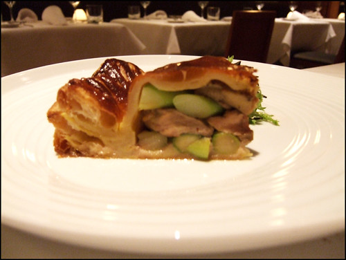Manresa (Los Gatos) - Foie Gras & Asparagus Tourte