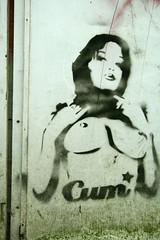 Cum (SpUtNik 23 -RUR und MKZ) Tags: brussels streetart cum stencil belgium belgique pochoir