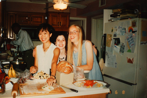High school graduation dinner, June 1994