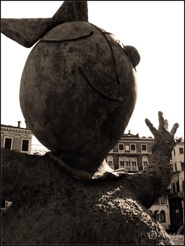 _abrazo gratis en Venecia