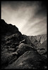 Tahquitz Canyon 6 - Black and White (Ledio (mostly away)) Tags: blackandwhite bw mountain nature d50 landscape nikon palmsprings coachellavalley tahquitzcanyon peisazh nikonstunninggallery anawesomeshot piesazh