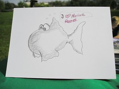 I love marine reserves card (Sabrina Sunshine) Tags: our fish bill marine camden group greenpeace delivery oceans petition campaign reserves defend