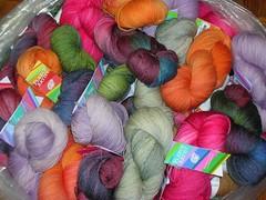 FA sock yarn