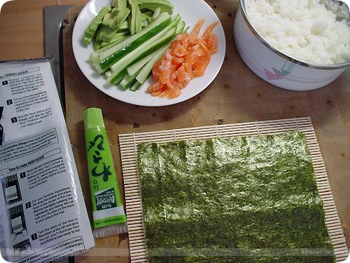 巻き寿司: 太巻き