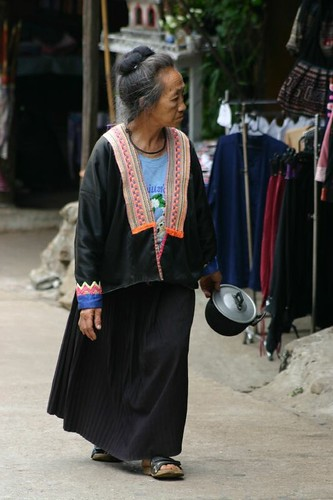 Hmong villager.