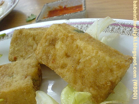 DF - deep fried tofu