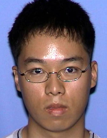 Driver's license photo of Cho Seung-Hui, the gunman suspected in the Virginia Tech massacre that left 33 people dead