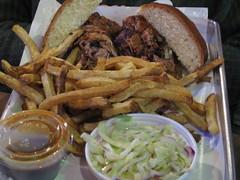 Smoque Half and Half Sandwich