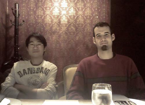 Zach and James Celebrating ... Really