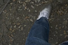 muddy_balloons_44 (sneaker lover) Tags: white fetish balloons shoes dirty canvas worn sneaker muddy keds