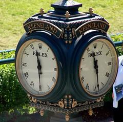 Keeneland Rolex Time