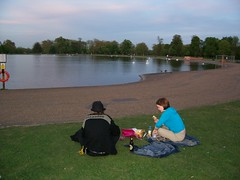 Picnic with John and Alice in Hyde Park