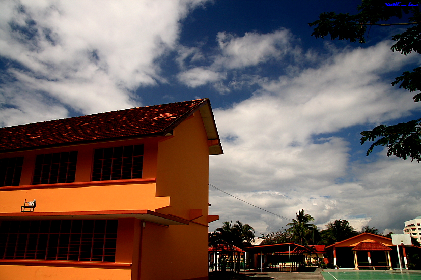 A colorful school @ KL Malaysia
