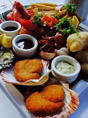 Seafood Platter for One ($55) from Ocean Beach...