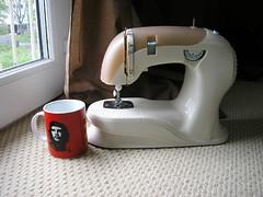 Baby sewing machine