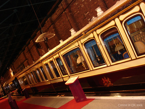 美輪美奐的皇室列車