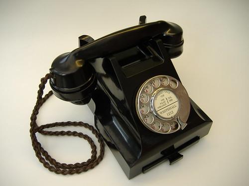 bakelite telephones tableau