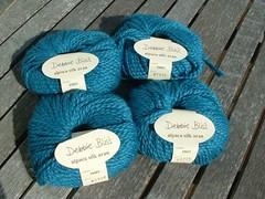 Debbie Bliss Alpaca Silk DK, teal