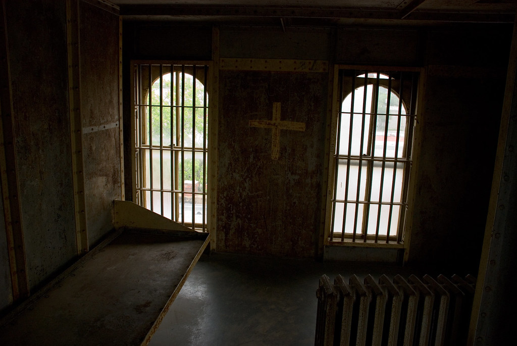 Solitary confinement cell, Caldwell County jail