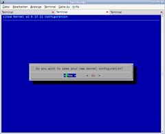 Kernel menuconfig 3