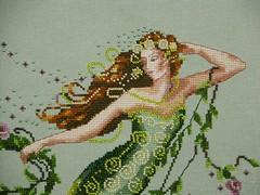 Mirabilia Designs' Emerald Mermaid (branflakez) Tags: crossstitch needlework stitches stitching mermaid mirabilia xstitch crosstitch mirabiliadesigns
