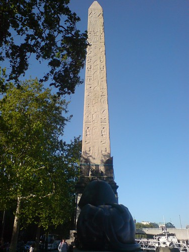 Cleopatra's Needle on the Embankment
