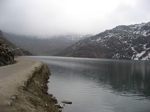 Scenic Tsomgo lake
