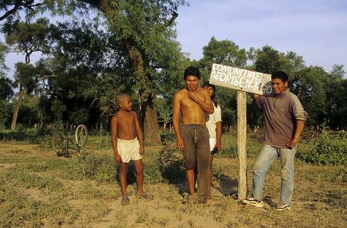 Les indiens Pigalas dans la province de Formosa