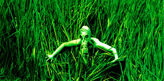 (Victor Carmona) Tags: verde green mask muerte pasto mascara et contaminacion