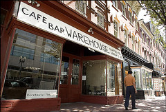 Warehouse Cafe, Bar, Theater on Seventh Street, NW
