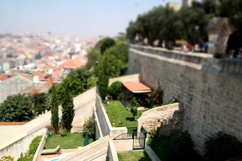 Miniature hillside gardens of Lisbon