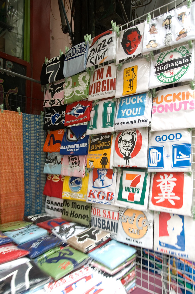 Bangkok - those t-shirts are still around?
