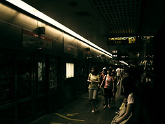 Emergency Exit Is On The Right (^riza^) Tags: may mrt 2007 orchad insingapore indonesiaphotobloggers thebiggestgroup