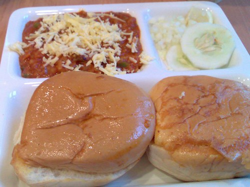 Cheese Pav Baji
