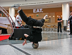 Headspin (tootdood) Tags: manchester centre breakdancer arndale headspin anawesomeshot