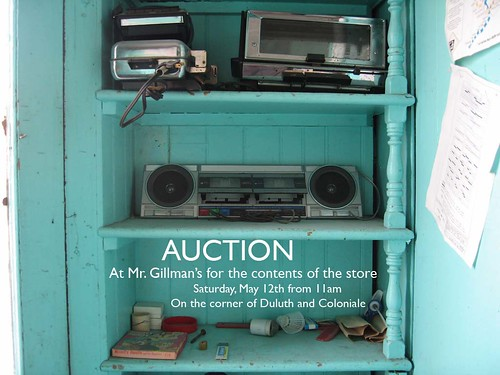 Gillman Auction on Saturday
