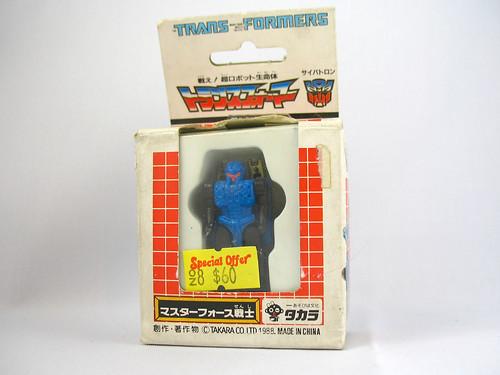 Takara G1 Masterforce Godmaster Zetoca